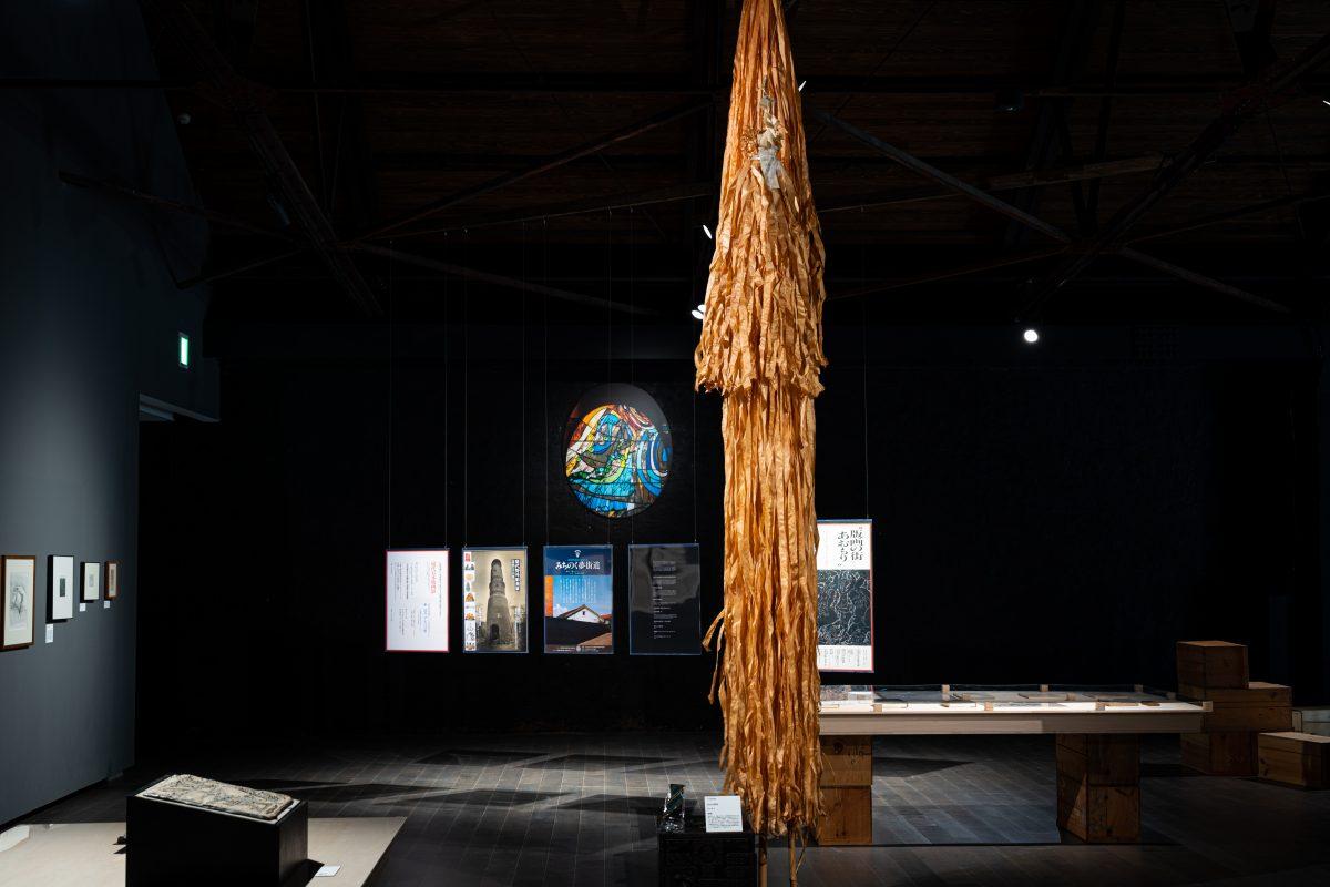 """MURAKAMI Yoshio,   Installation view  """"Hirosaki Encounters""""Photo: Sho Shibata"""
