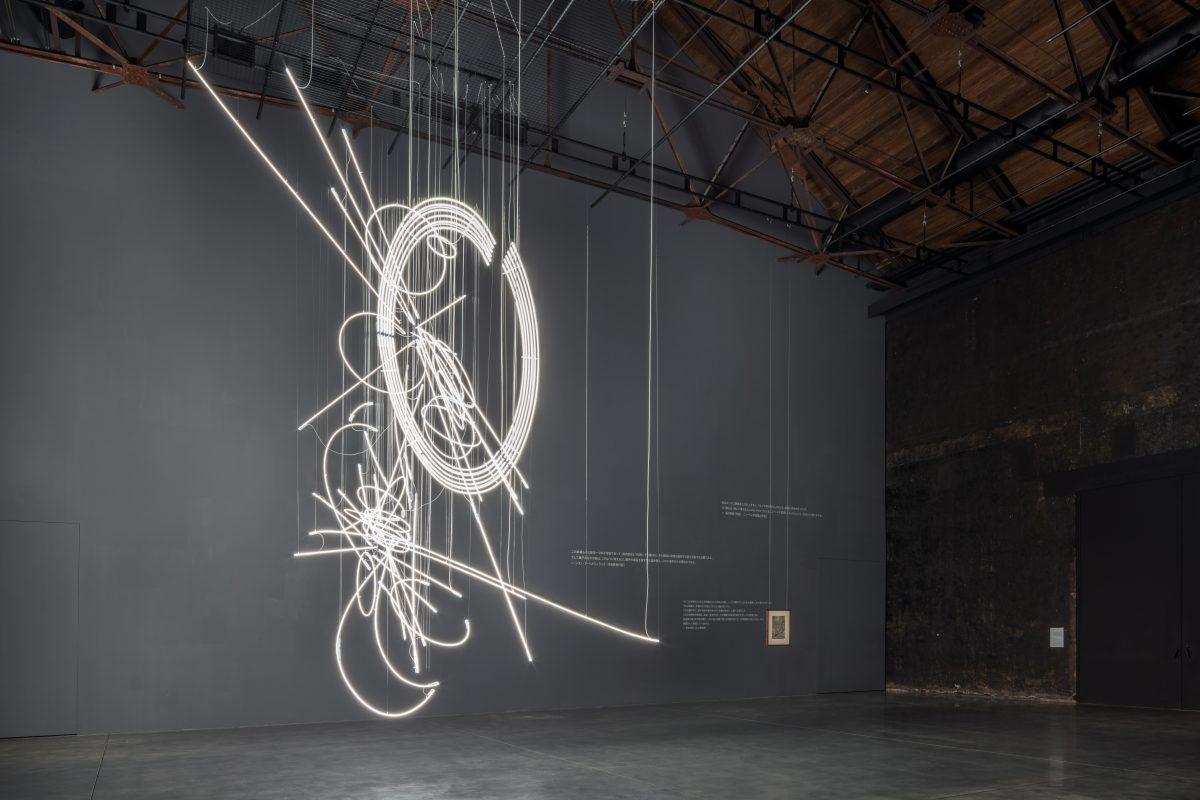 ケリス・ウィン・エヴァンス《Drawing in Light (and Time) ...suspended》2020年弘前れんが倉庫美術館蔵Photo: ToLoLo studio